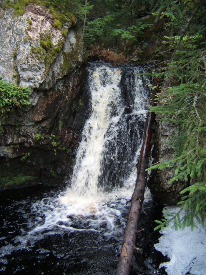 Upper Moss Glen Falls