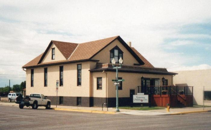 Methodist Church in Laramie, front view