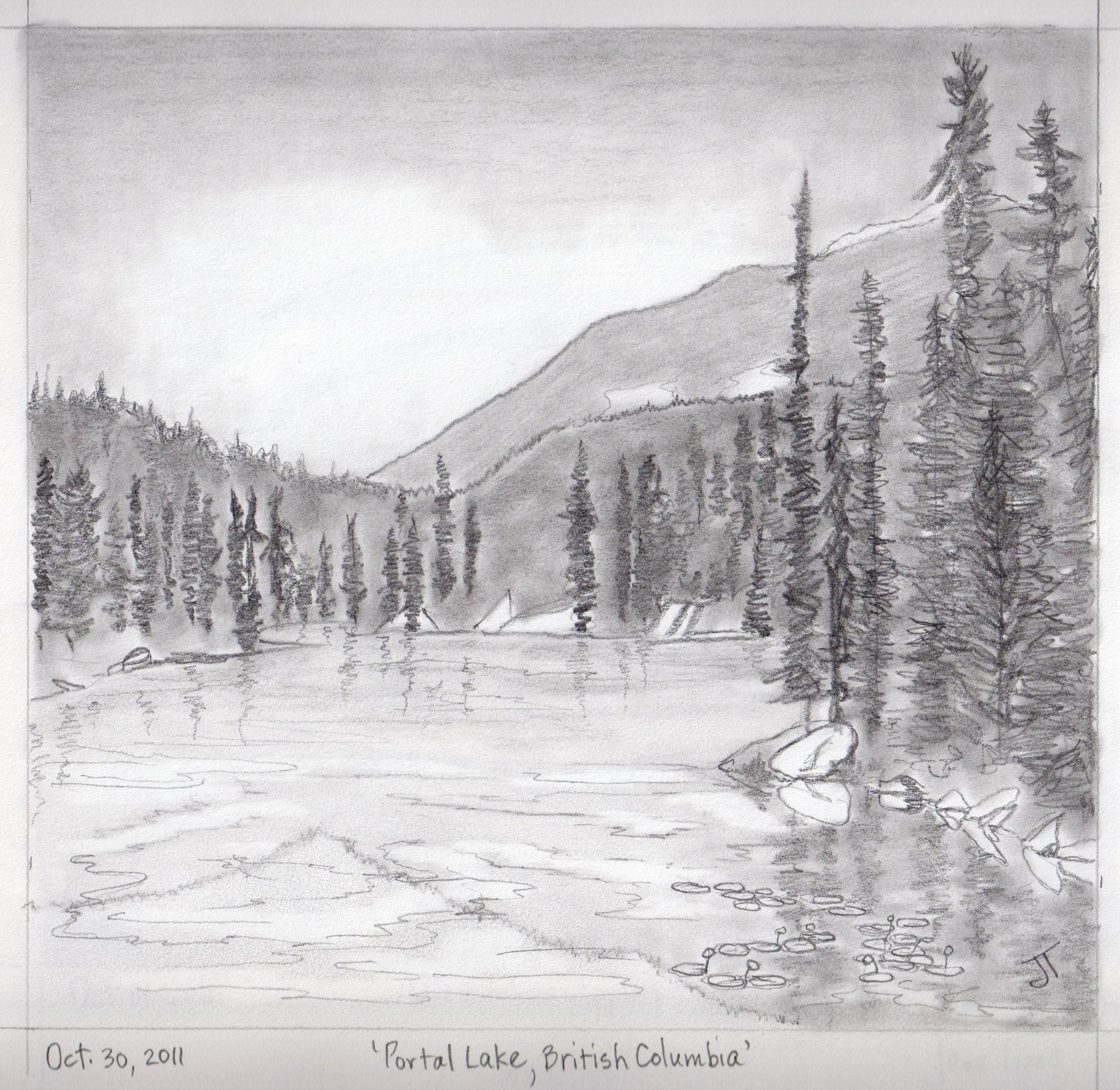 Gallery Of Pencil Drawings Of Landscape