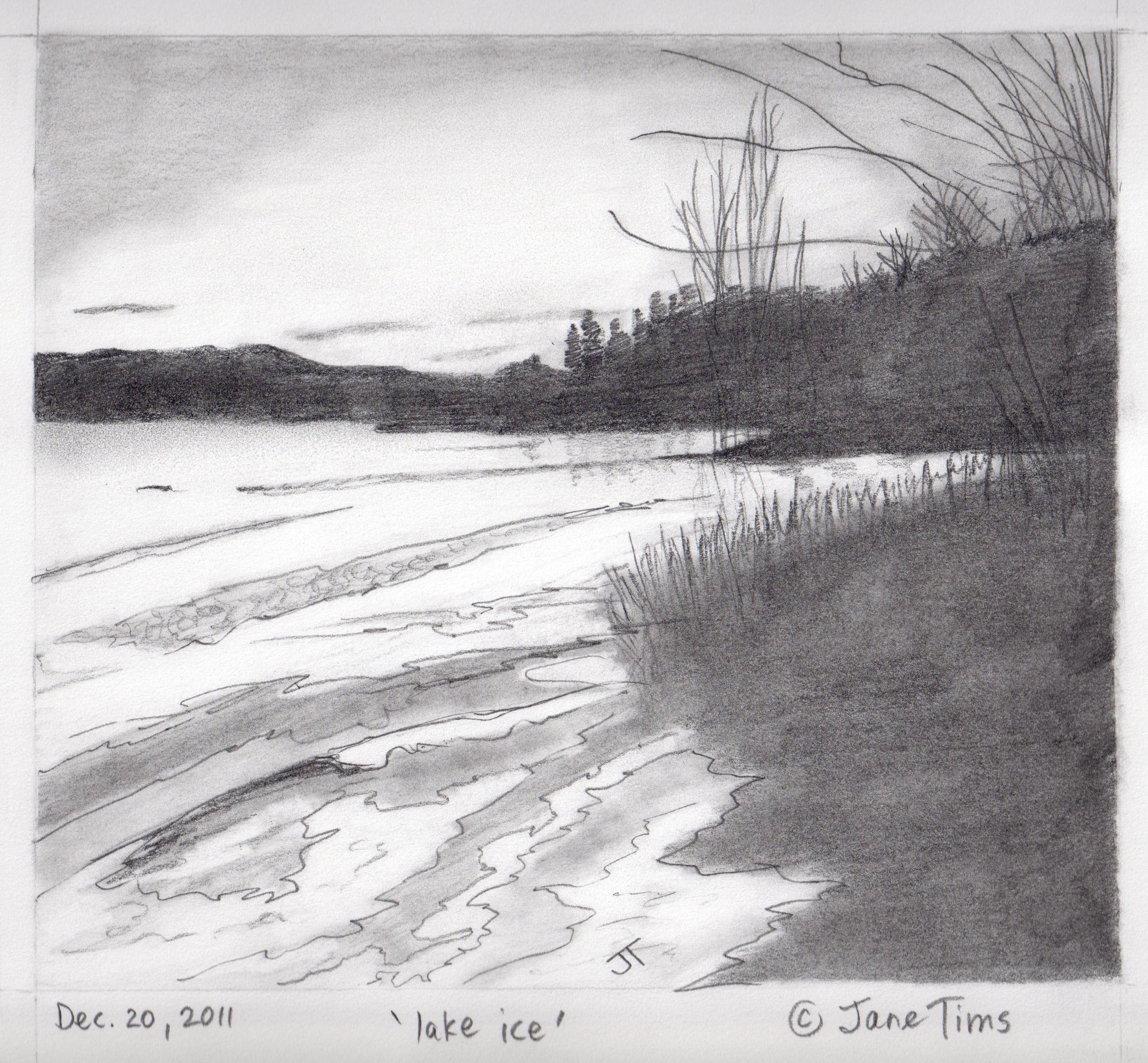 Beautiful Nature Pencil Drawings: Gallery Of Pencil Drawings Of Landscape