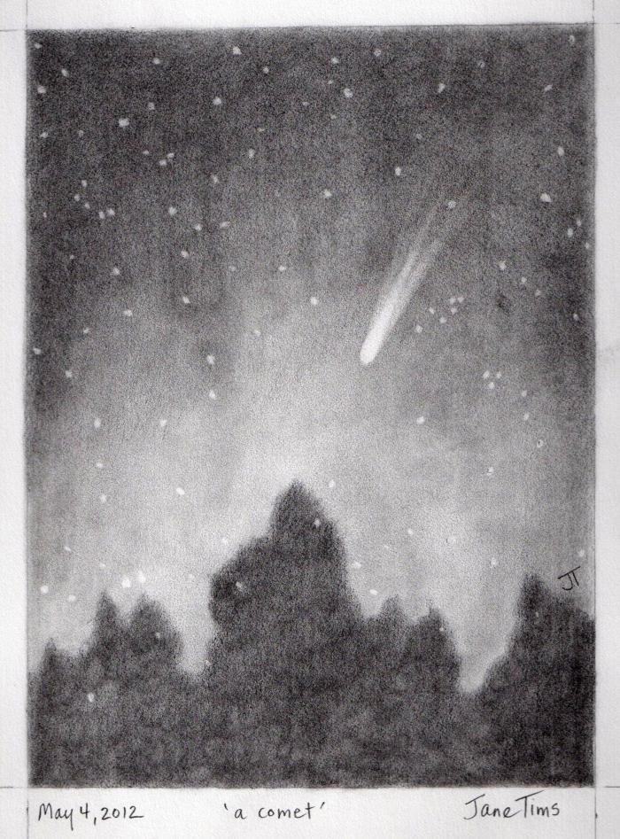 'a comet'