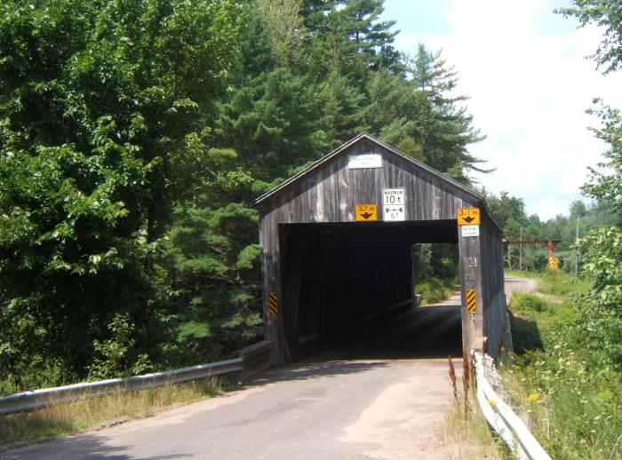 Bell Bridge, South Branch Oromocto River
