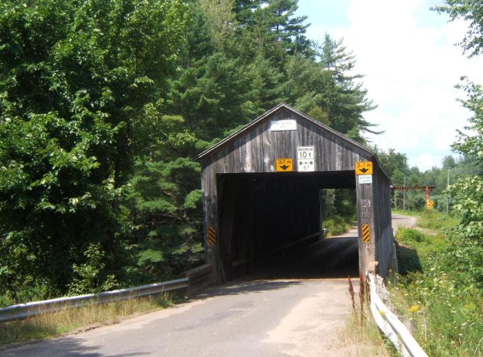 Bell Bridge, South Branch Oromocto River