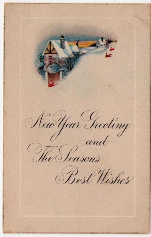 wishes from two red birds