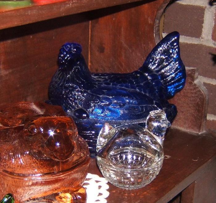 blue hen dish