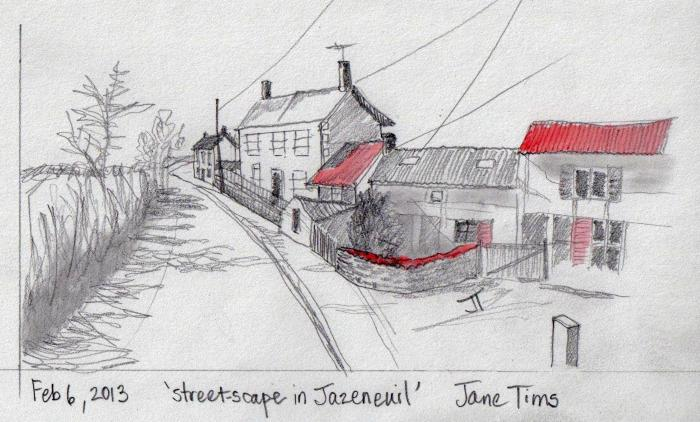 'street-scape in Jazeneuil'