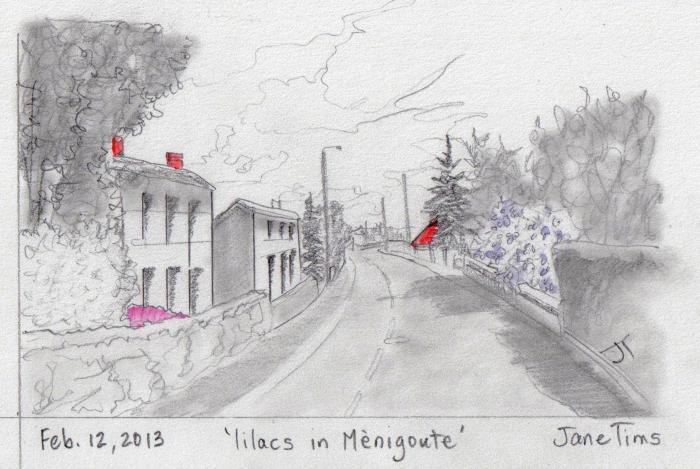 'lilacs in Menigoute'