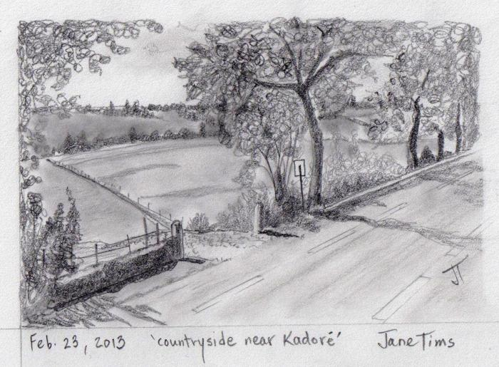 'countryside near Kadore'