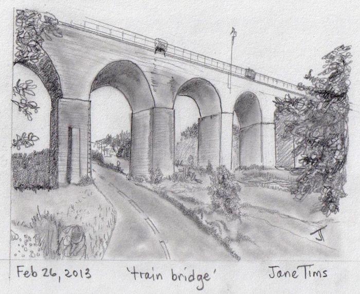 'train bridge'