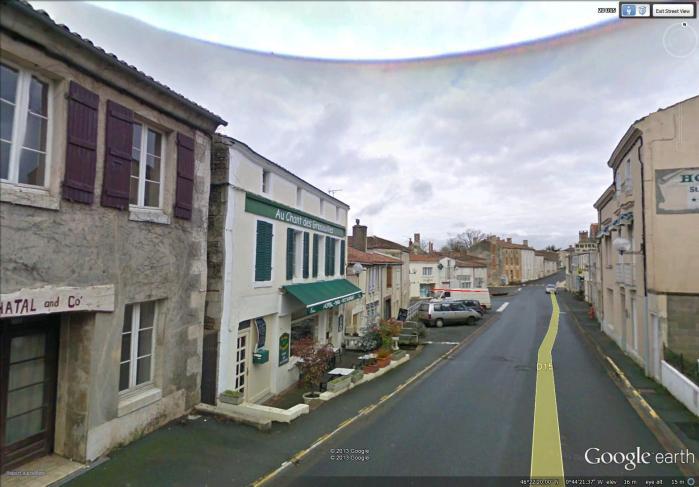 street in Grande Bernegoue