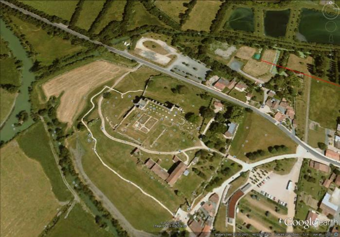 map of abbey