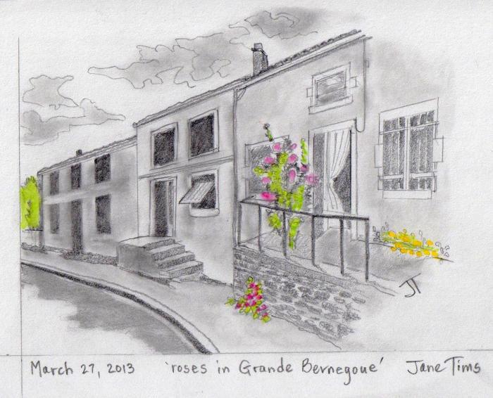 'roses in Grande Bernegoue'