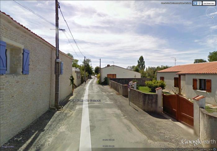side street in Saint-Sauveur-d'Aunis