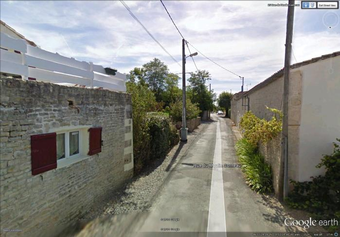 back street in Saint-Sauveur-d'Aunis