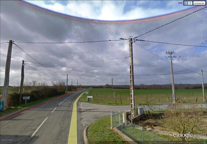 wirescape near Saint-Sabine