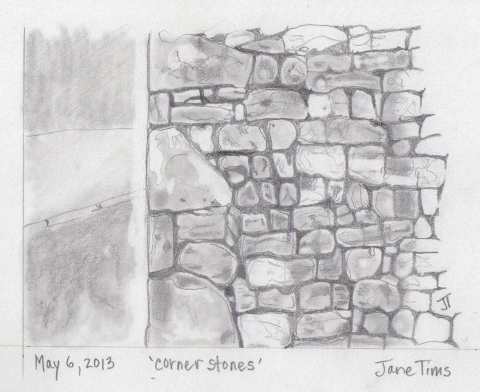 'corner stones'