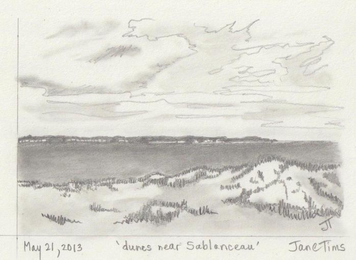 'dunes near Sablanceau'