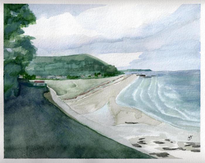 July 6, 2013 'Seaton Beach' Jane Tims