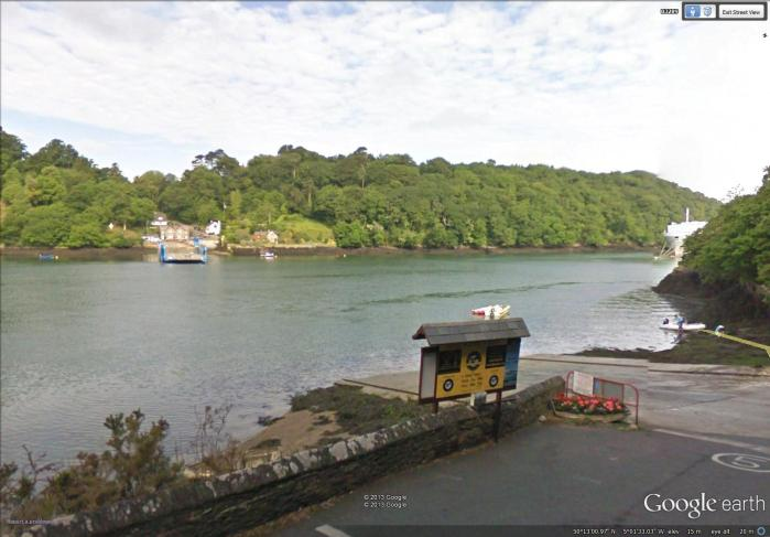 7-35 ferry crossing River Fal