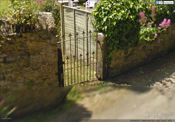 inspiration for 'gate on Old Church Road'