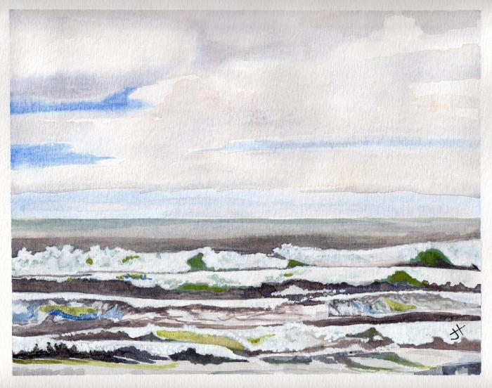 November 16, 2013  'Lawrencetown Beach, Nova Scotia'   Jane Tims