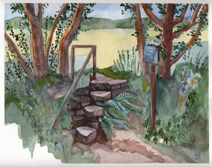 November 19, 2013 'stone stair near Constantine' Jane Tims