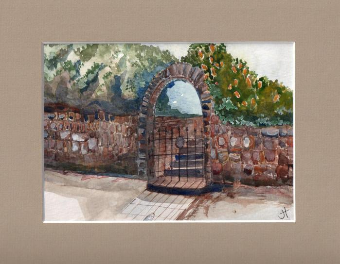 January 9, 2014  'gate in Falmouth'   Jane Tims