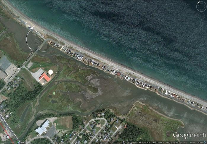 Beresford Beach aerial