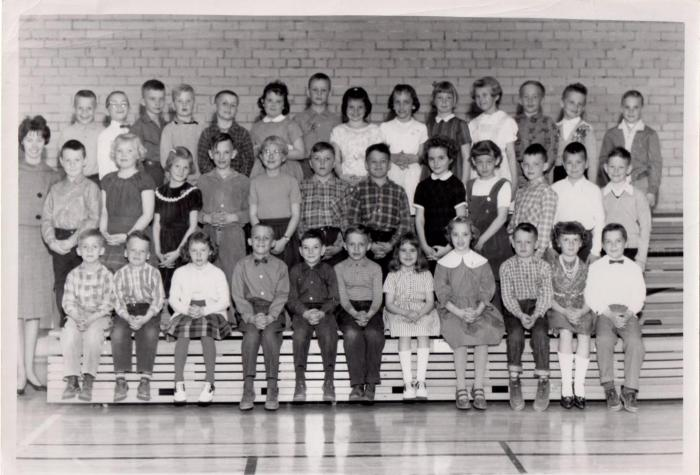 Miss McCallum's Grade Two Class, Crescent Heights Elementary School