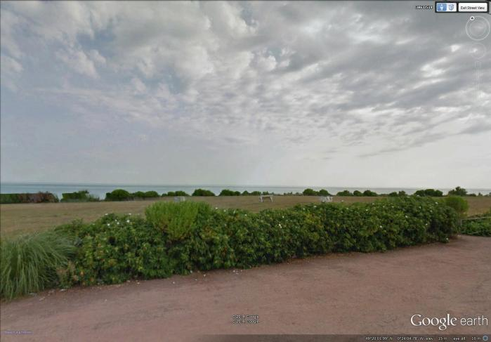 looking out to sea (image from Street View)