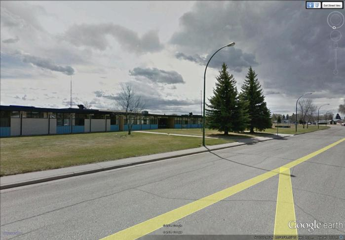 Vincent Massey Elementary School in 2006 - looks just the same as in the early 1960s