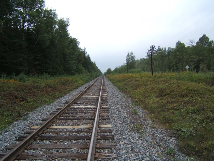 railway near Rooth, New Brunswick