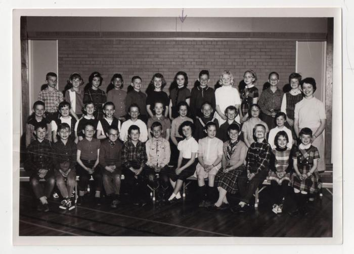 Miss Johnson's Grade Three class, Crescent Heights Elementary School (I am in the back row, seventh from the left)