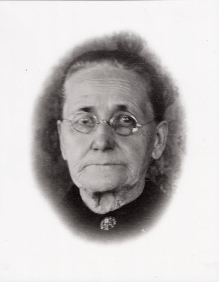 my great-great-grandmother Sallie -  Sarah Anne (Kresge) Hawk Popplewell (1835 - 1910)