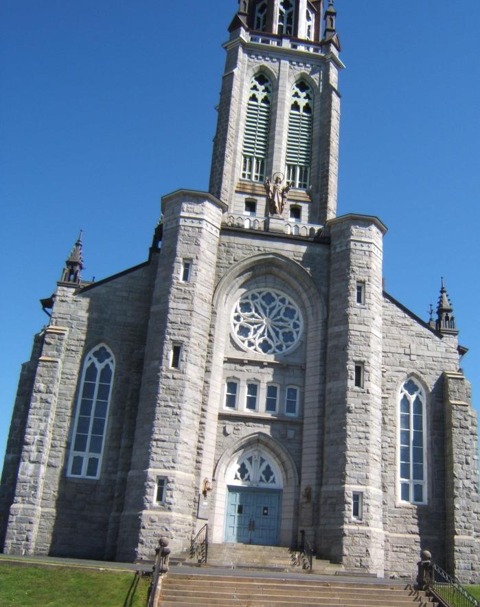 Catholic church in East Angus, Quebec