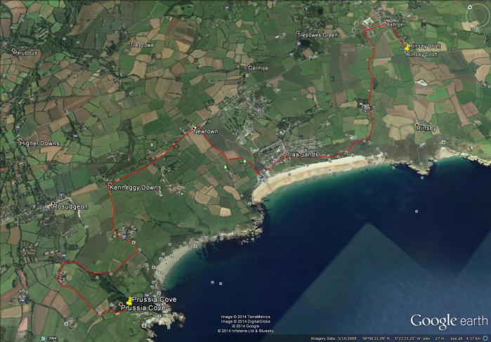 Rinsey to Prussia Cove