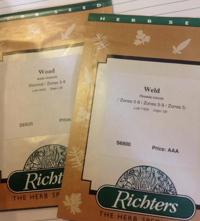 packets of seed for planting next spring
