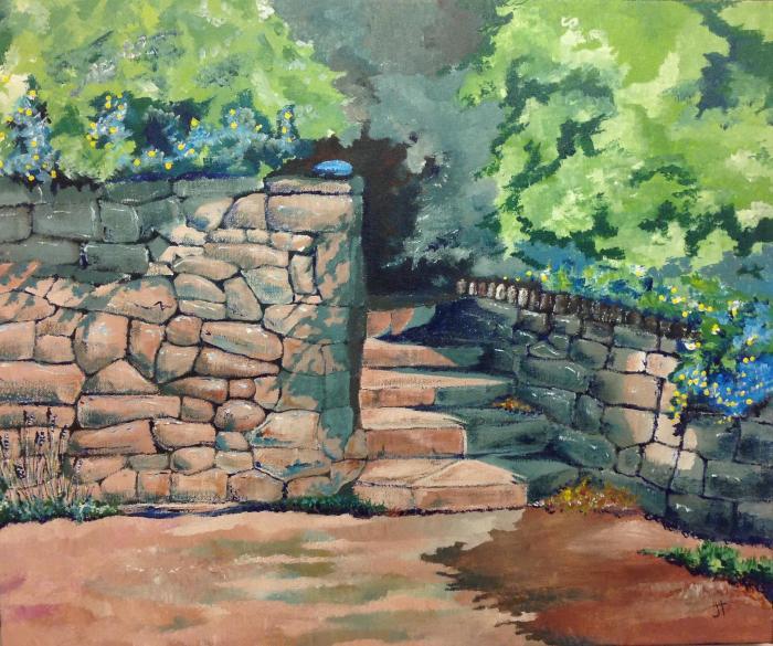 blue stone  (Jane Tims)