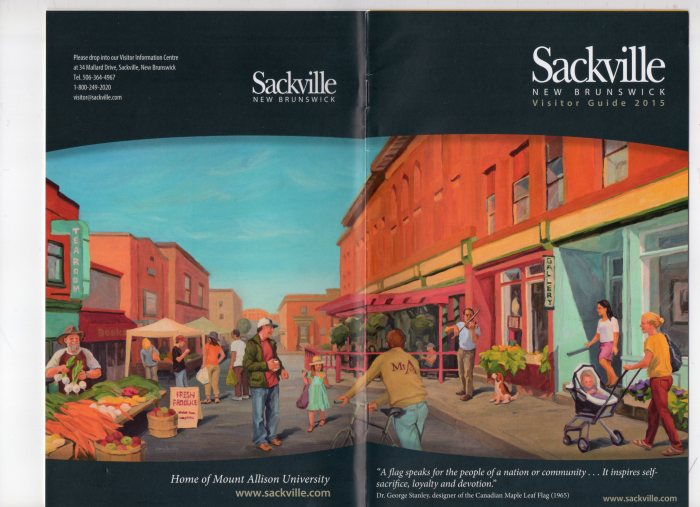 Brochure for the Town of Sackville, New Brunswick