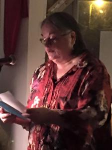 Jane reads at WordsFall 2015