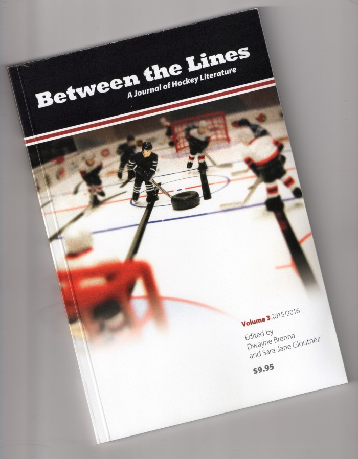 Between the Lines: A Journal of Hockey Literature