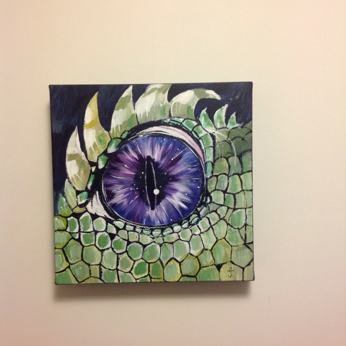November 30, 2015 'purple dragon eye' Jane Tims