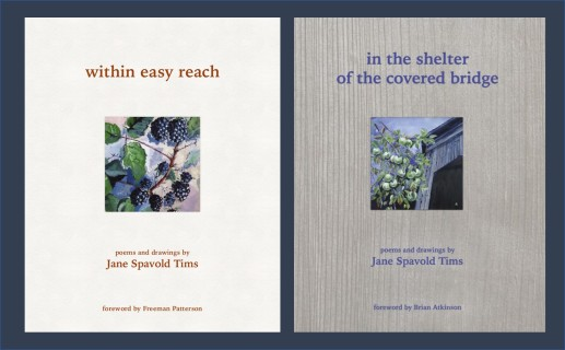 two poetry books