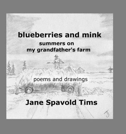 Blueberries and mink cover pp