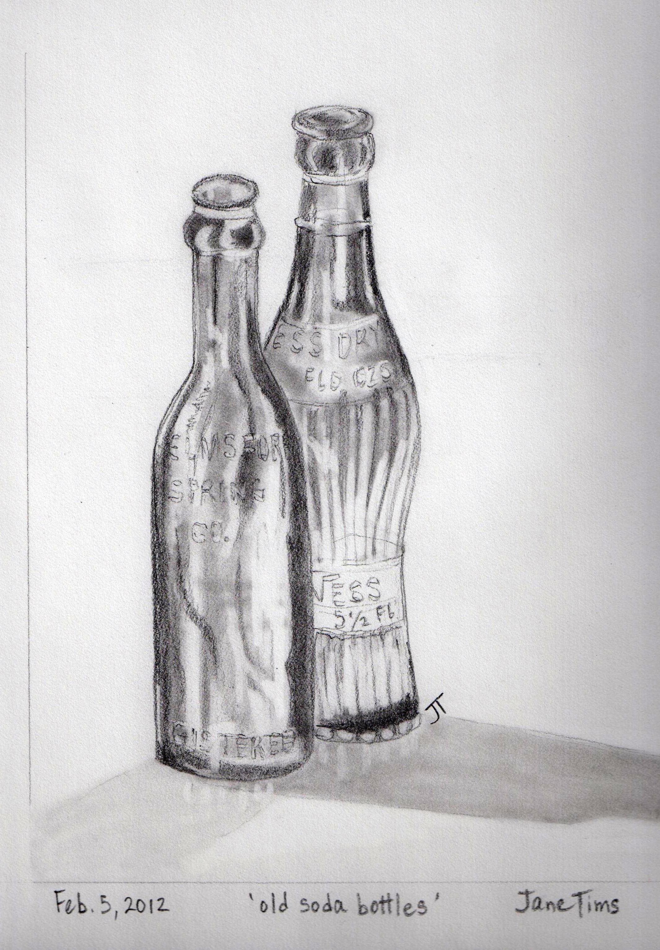 old pop bottles cropped