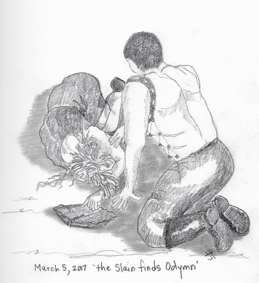 'the Slain finds Odymn'