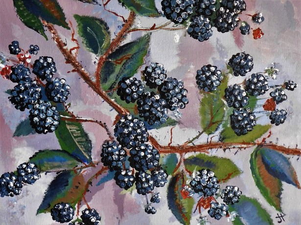 'blackberry afternoon'