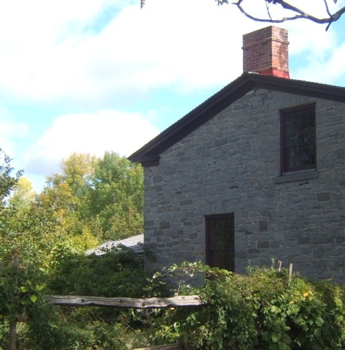 stone house Upper Canada Village