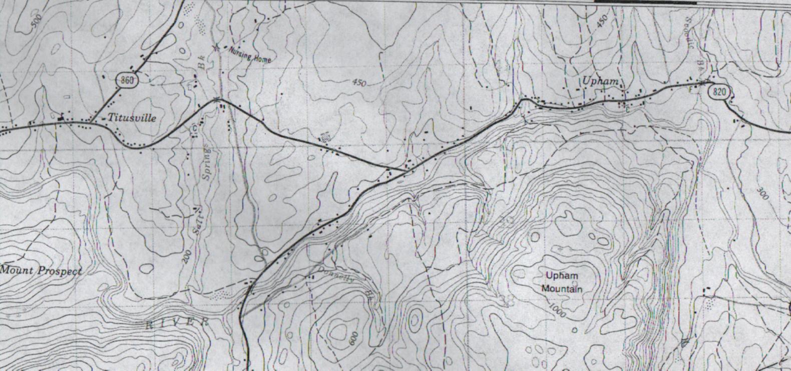 sample Walling map